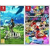 Nintendo The Legend Of Zelda: Breath Of The Wild Edición Estándar + Mario Kart 8 Deluxe