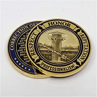 PoliceTees Correction Officer's Oath Challenge Coin - Individual