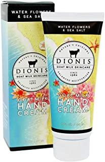 Dionis Goat Milk Skincare Hand Cream (Water Flowers & Sea Salt, 2 oz)