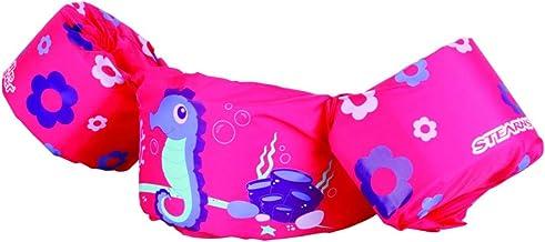 Stearns Kids Puddle Jumper Basic Life Jacket (Seahorse (Pink))