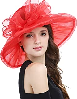 Best red church hats Reviews