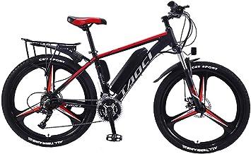 """Elektrische fietsen voor volwassenen, Magnesium Alloy ebikes Fietsen All Terrain, 26"""" 36V 350W 13Ah verwisselbare lithium-..."""