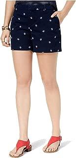 Womens Printed Casual Chino Shorts