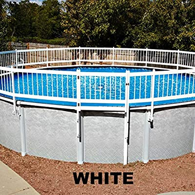 Doheny's Protect-A-Pool Fence for Above Ground Pools | Provides A New Level of Security to Above Ground Pool Safety! | Fits Most Pools - Regardless of Shape (Base Kit A - 8 Sections, Tan)
