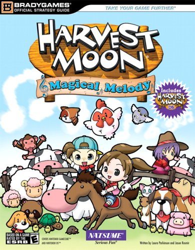 Harvest Moon Magical Melody & Harvest Moon Official Strategy Guide