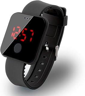 babnane Bulges Unisex Fashion LED Ultra-Thin Large-Screen Electronic Wristwatch Toys Bracelet Bangl