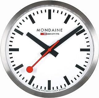 ساعت مچی دیواری Mondaine A990.CLOCK.16SBB شماره گیری سفید