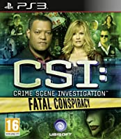 CSI Fatal Conspiracy (PS3) (輸入版)