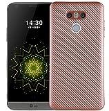 LG G6 G6Pro G6Plus Soft Case, Awesome Carbon Fiber Twill