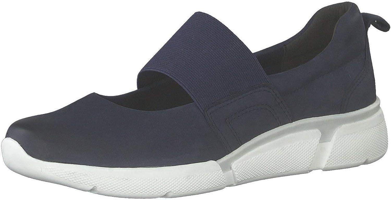 MARCO TOZZI Damen Slipper Woms Slip-on 2-2-24726-22 2-2-24726-22 805 blau 604491  große Auswahl und schnelle Lieferung