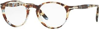 Persol PO3092V - 9050 Eyeglass Lens AZURE BROWN w/DEMO...