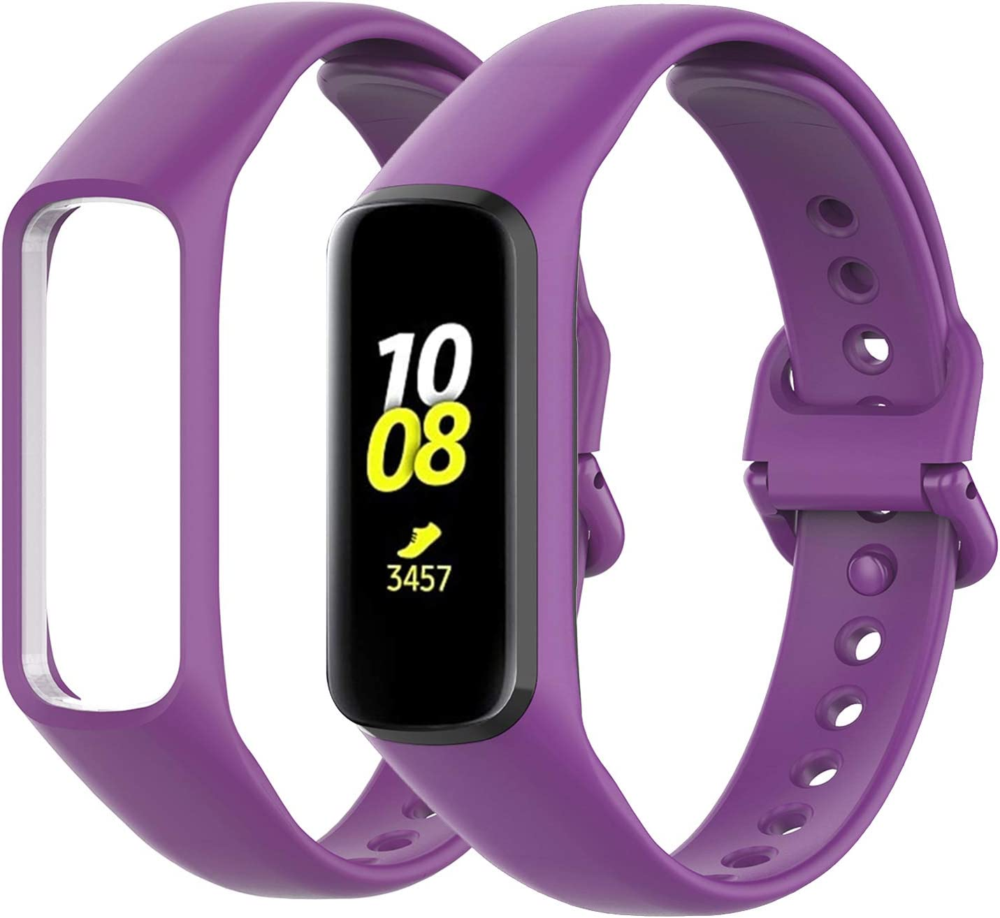 Malla Silicona Samsung Galaxy Fit 2 purpura 1 Pack