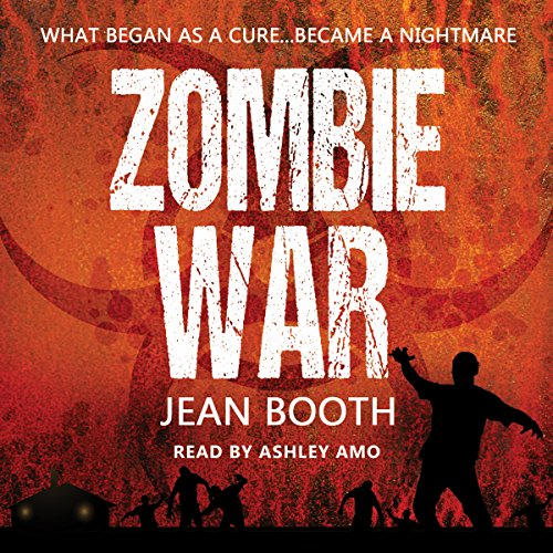 Zombie War audiobook cover art