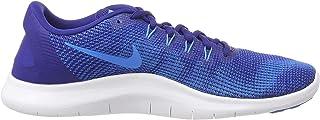 Men's Flex 2018 RN Running Shoes (8.5 D(M) US, Deep Royal Blue/Blue Hero)