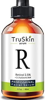 TruSkin Retinol Serum for Wrinkles & Fine Lines with Organic Green Tea & Jojoba Oil, 2 fl oz
