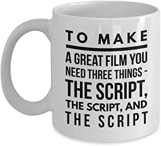 Alfred Hitchcock Coffee Mug - Alfred Hitchcock Movie Mug - 11oz Mug - Halloween Holiday and Birthday Gift for Tea Lovers - Best Gift for Family
