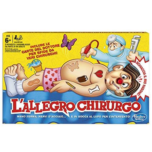 Hasbro Gaming B2176 L'Allegro Chirurgo, Gioco in Scatola, Età 6+
