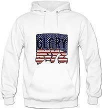 ZTANG Mens Glory Boyz Camo Logo Pullover Sweater Hoodies XXXL White
