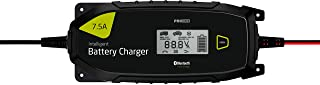 Pro-User IBC7500B 18173 Bluetooth 12 V och 24 V/7,5 Amp Intelligent batteriladdare för bly och litiumbatterier