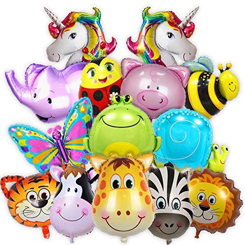 Geschenk für 10pcs Großes Dinosaurier Folienballon Luftballon Deko Ballon