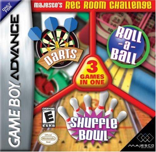 Majesco's Rec Room Challenge: Roll-a-Ball, Darts, Shuffle Bowling (輸入版)