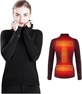 Yokbeer Carbon Fiber Heating Zones for Unisex Sweaters With Turtleneck, Intelligent Temperature Setting, Self Cultivation ...