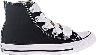 Converse Chuck Taylor All Star Big Eyelets High Black Women Shoes (10 Women US)