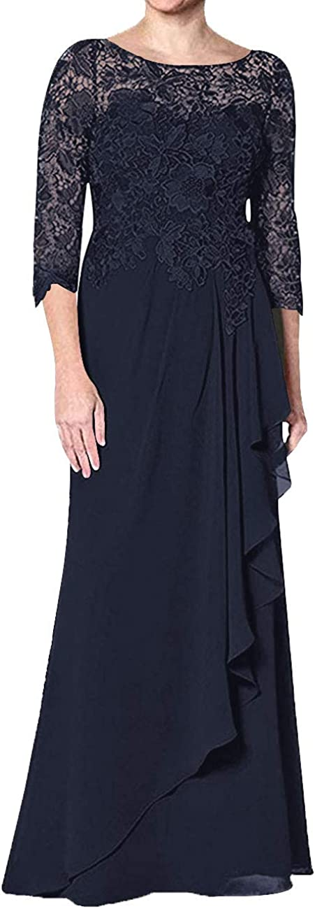 Mother of The Bride Dresses Long 3 Evening 予約販売品 4 Formal Gowns 期間限定送料無料 Sleeve