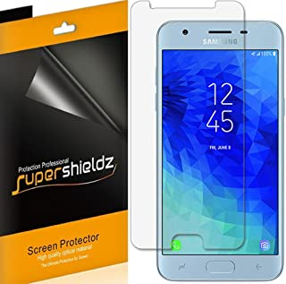 (6 Pack) Supershieldz for Samsung Galaxy J3 (2018) Screen Protector, High Definition Clear Shield (PET)