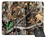 1 X Forest Camouflage Square Mouse Pad Gaming Mousepad 9.25 x 7.67 Inch