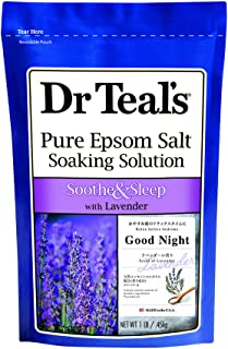 Dr Teal's Soothe & Sleep Pure Epsom Salt Soaking Solution with Lavender, 0.45 kg