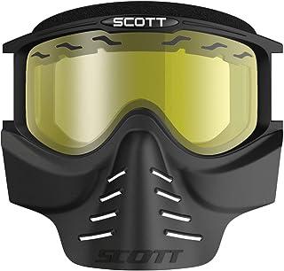 Scott 83X Safari Cross MTB/Paintball Goggle inkl. Facemaske Brille schwarz/gelb