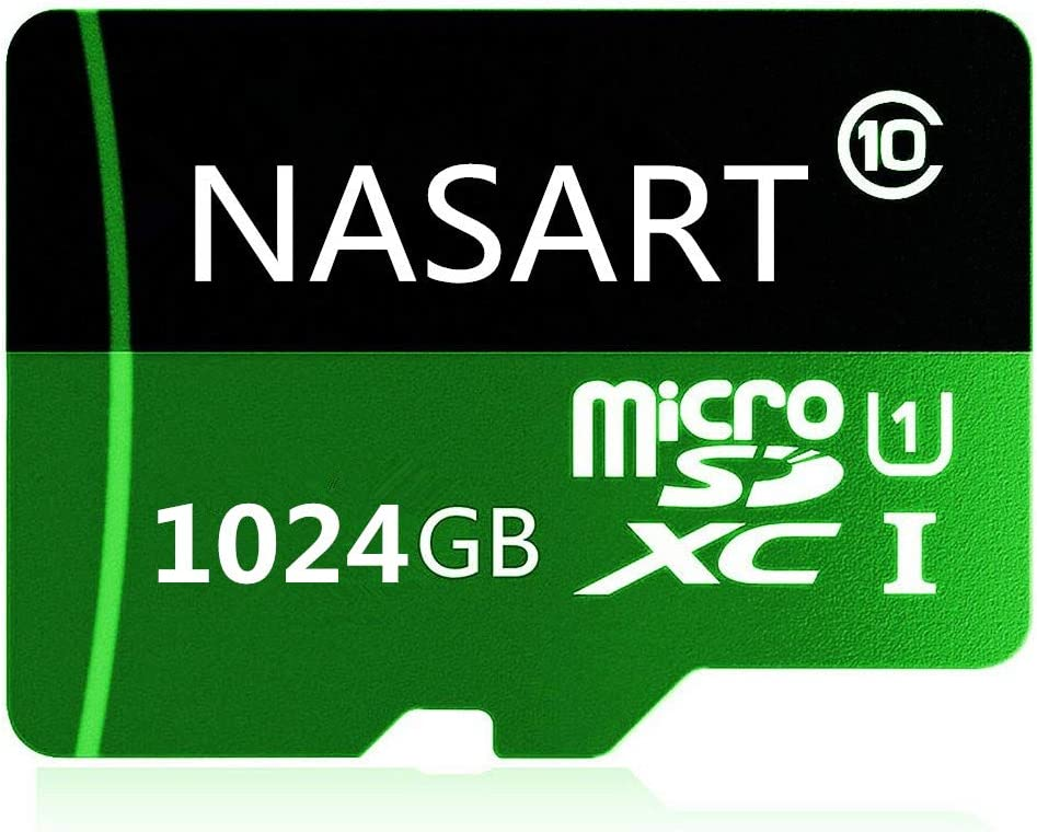 Micro SD Card 1024GB Class 10 High Speed Memory SDXC Card with SD Adapter for Android Smartphones,PC,Tablets