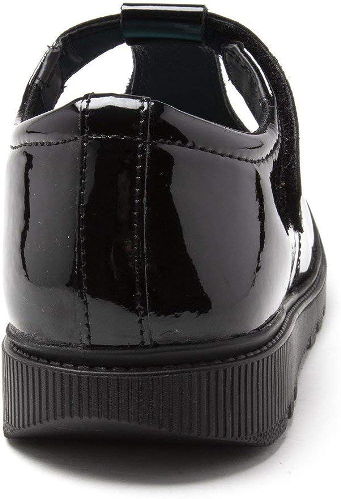 Hush Puppies Girls Gracie Flats Shoes Black