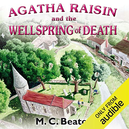 『Agatha Raisin and the Wellspring of Death』のカバーアート