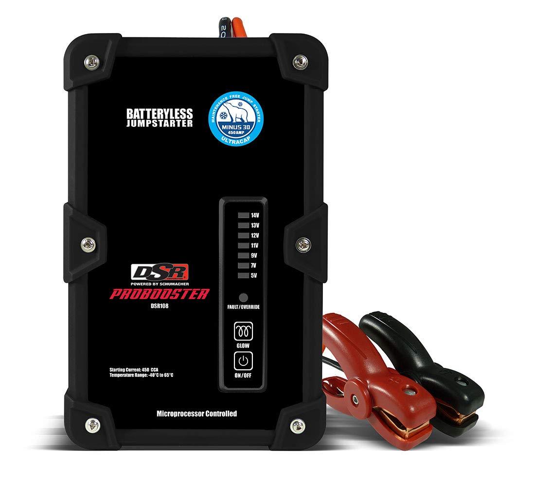 Schumacher DSR108 450A Batteryless Starter