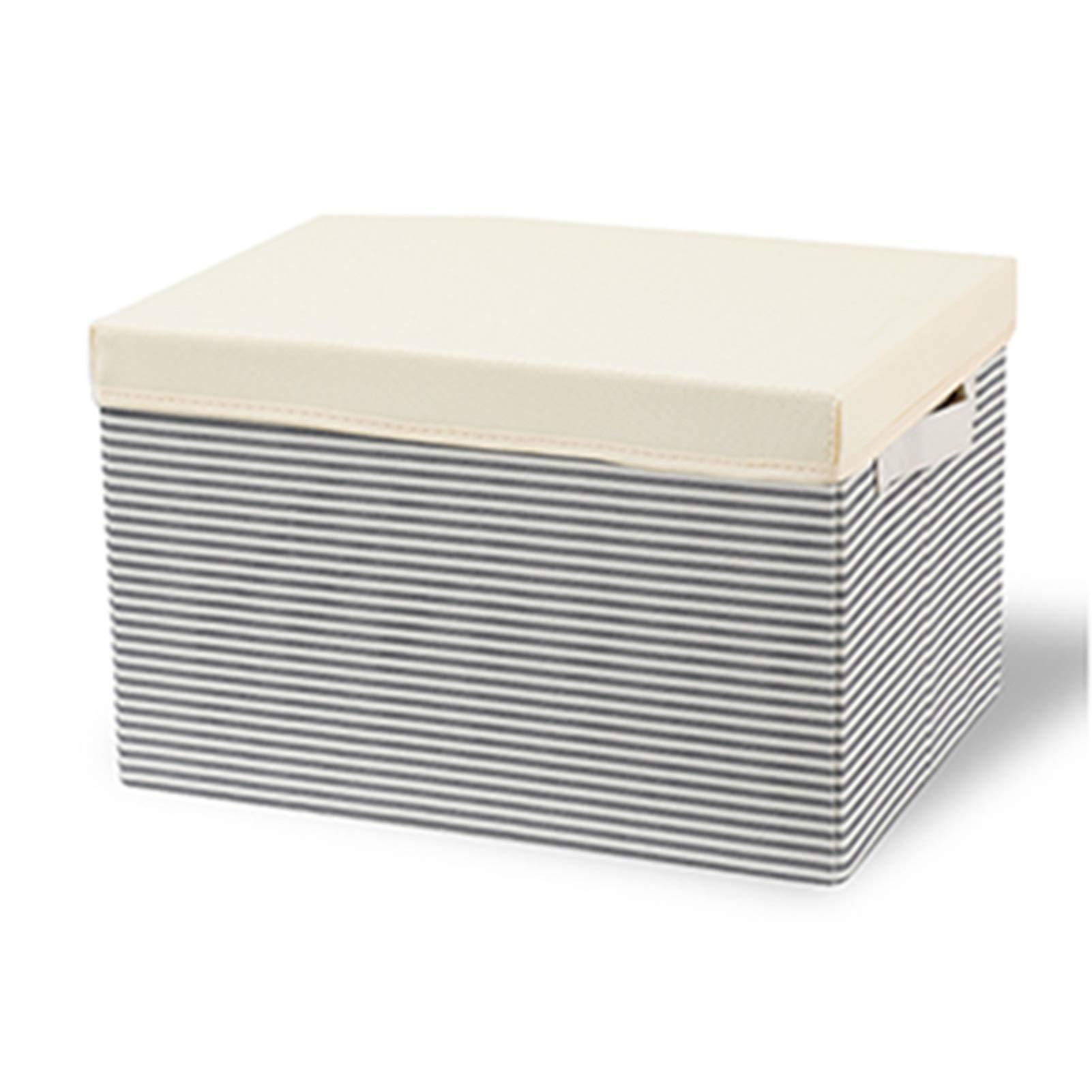 GLJ Caja de almacenaje Caja de Almacenamiento Plegable, Organizador de Ropa de Juguete para Armario, Caja de Almacenamiento Lavable con Tapa, 40 X 30 X 25 cm, Paquete de 4/5/6/9: Amazon.es: Hogar