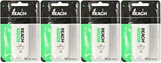 REACH Mint Waxed Floss 200 Yards (Pack of 4)