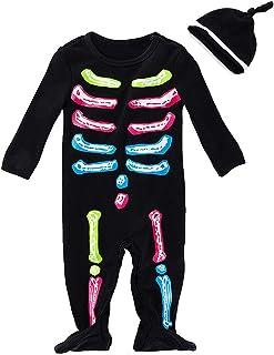 FANCYINN Bebes Disfraz de Halloween Mameluco Infantil con