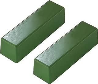 SHARPAL 208H Polishing Compound Fine Green Buffing Compound Leather Strop Sharpening Stropping Compounds (2-Pack, Total 4 Oz.)
