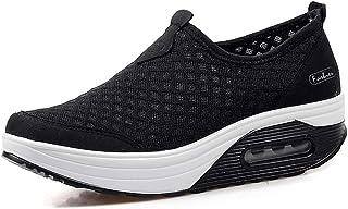 Femmes Minceur Taille Chaussures Marche Baskets 35-42eu Plate-Forme Chaussures Poids Air Léger Engrener Elastic Sports en ...