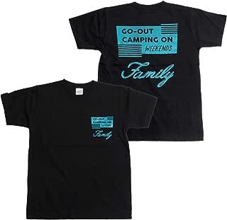 [キャンプフリー] CAMPFREE サンプルライン Tシャツ ボーイズ 半袖 長袖 七分袖 M.H.A.style 10172