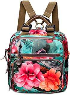 Diaper Bag Floral Travel Backpack, Nappy Bags for Baby Care
