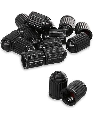 5 X CHRYSLER Nero Auto Ruota in Lega Valvola Polvere Tappi tutti i modelli 300 200 in plastica