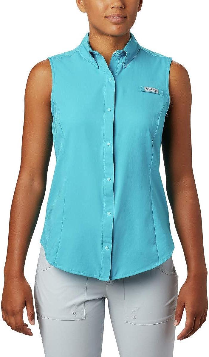 Columbia Under blast sales Women's Large discharge sale Tamiami Shirt Sleeveless