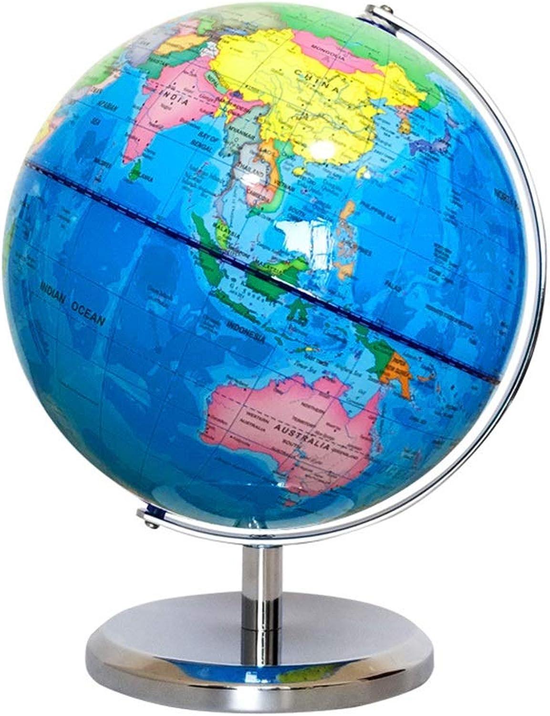 ZOODQ Dekorative Kunststoffkugel Aktualisierte geographische Kugel, die antike dekorative Desktop-Tischplatte-Kugel 20 cm dreht Strukturiertes mehrfarbiges Finish B07PXC1HKZ | Discount