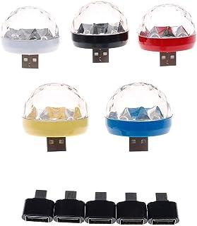 USB Mini Disco Light, Party Lights Ball Sound Activeert Strobe, voor Home Room Party Verjaardag DJ.Bar Karaoke Xmas Weddin...