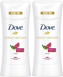 Dove Advanced Care Antiperspirant Deodorant, Revive, 2.6 Ounce (Pack of 2)
