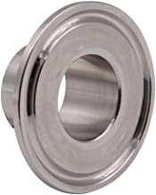 DERNORD Stainless Steel 304 Sanitary Fitting, Long Weld Clamp Ferrule FitsTri Clamp (25MM/1