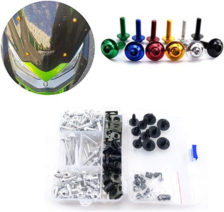 For Honda CBR600RR CBR 600 RR 600RR 2007 2008 Complete Bolt Fairings Clips Kits Windshield Bolt